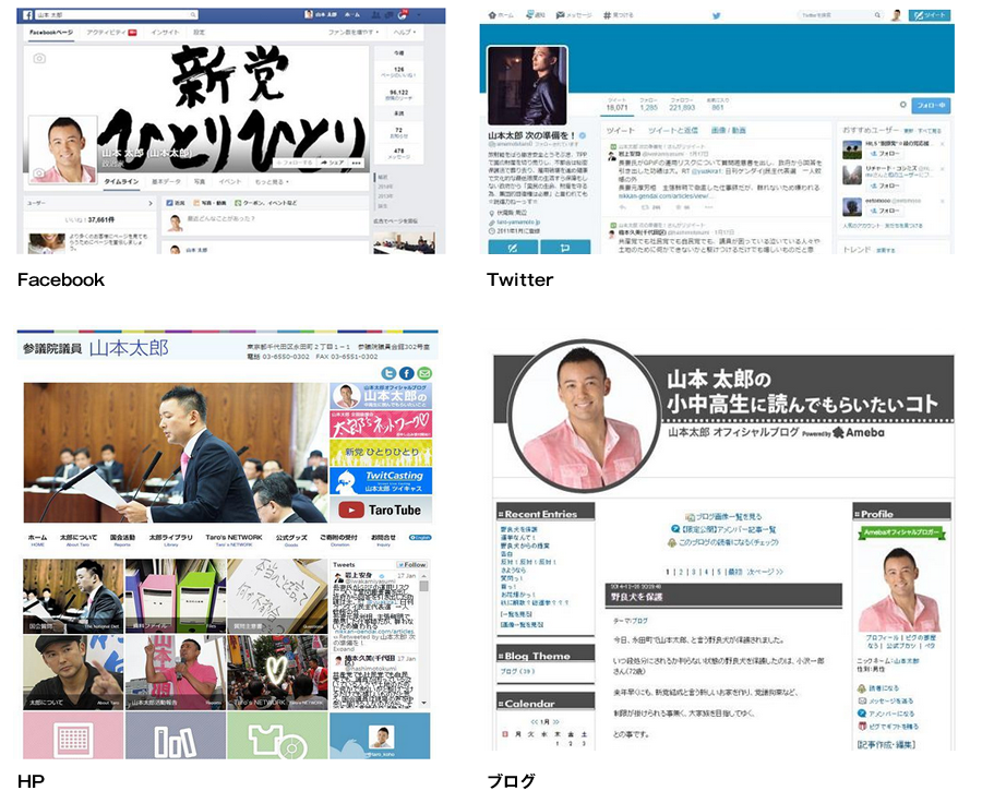 web SNS ブログ